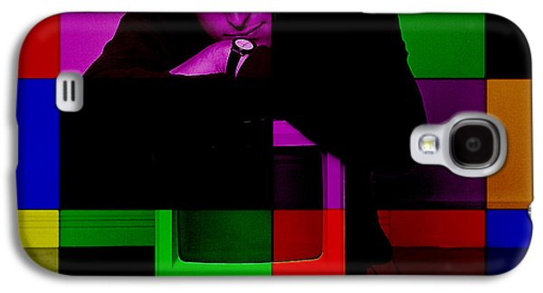 Steve Jobs Painting Galaxy S4 Case by Marvin Blaine