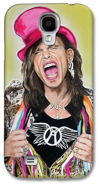 Steven Tyler 2 Galaxy S4 Case by Melanie D