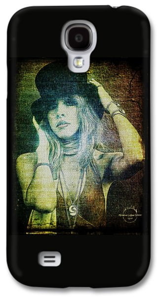 Rock And Roll Galaxy S4 Case - Stevie Nicks - Bohemian by Absinthe Art By Michelle LeAnn Scott