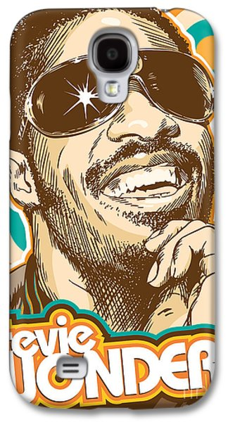 Stevie Wonder Pop Art Galaxy S4 Case