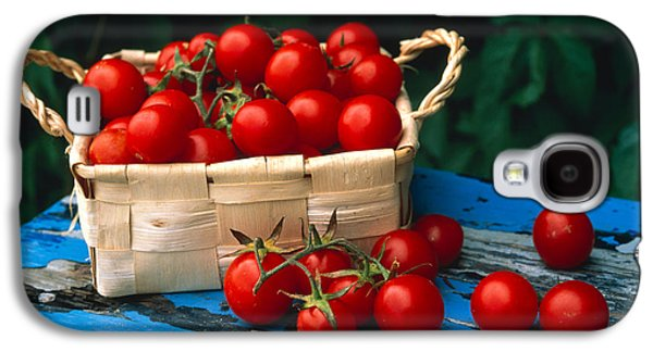 Still Life Of Cherry Tomatoes Galaxy S4 Case by Panoramic Images