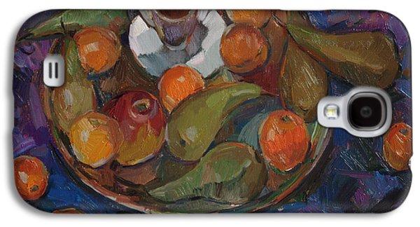 Still Life On A Tray Galaxy S4 Case by Juliya Zhukova