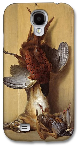 Still Life With A Hare, A Pheasant And A Red Partridge Galaxy S4 Case by Jean-Baptiste Oudry