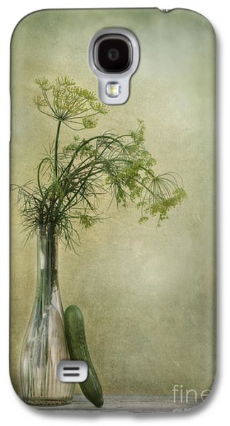 Still Life With Dill And A Cucumber Galaxy S4 Case by Priska Wettstein