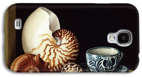 Still Life With Nautilus Galaxy S4 Case by Jenny Barron