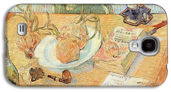 Still Life With Onions Galaxy S4 Case by Vincent van Gogh