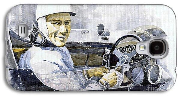 Stirling Moss Galaxy S4 Case by Yuriy  Shevchuk