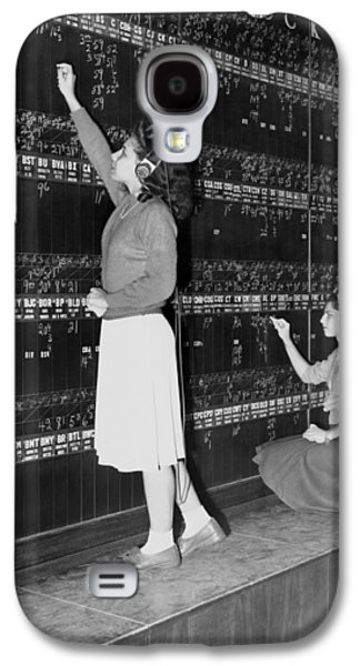 Stock Exchange Hires Women Galaxy S4 Case by Underwood Archives