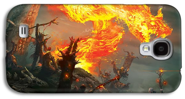 Stoke The Flames Galaxy S4 Case