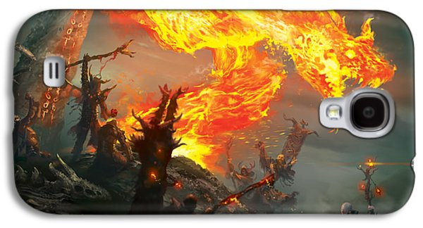 Wizard Galaxy S4 Case - Stoke The Flames by Ryan Barger