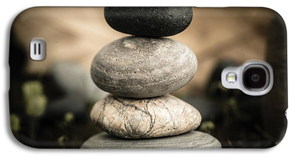 Stone Cairns I Galaxy S4 Case