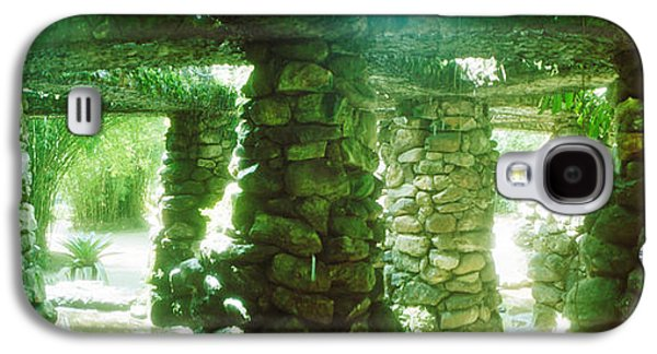Stone Canopy In The Botanical Garden Galaxy S4 Case by Panoramic Images