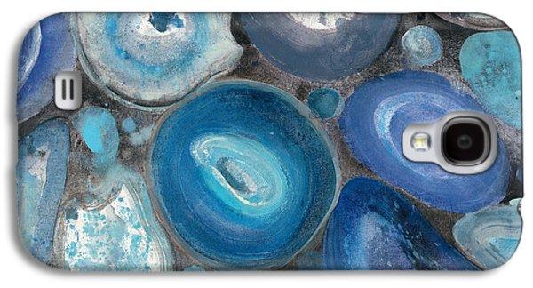 Stone Circles II Crop Galaxy S4 Case by Albena Hristova