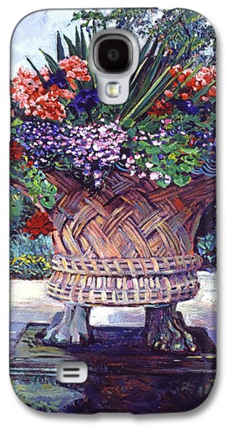 Stone Garden Ornament Galaxy S4 Case by David Lloyd Glover