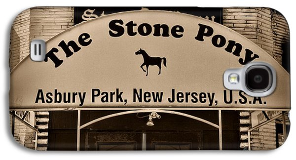Stone Pony Enter Here Galaxy S4 Case by Paul Ward