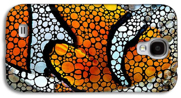 Stone Rock'd Clown Fish By Sharon Cummings Galaxy S4 Case