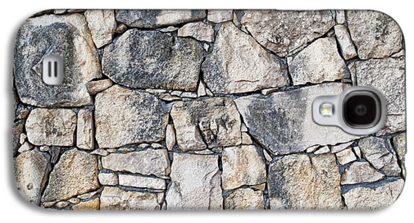Stone Wall Texture Galaxy S4 Case by Antony McAulay