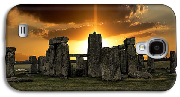 Stonehenge Wiltshire Uk Galaxy S4 Case by Martin Newman