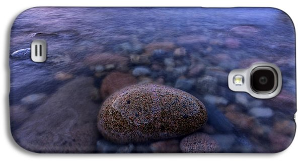 Stones And Water In Acadia National Park Galaxy S4 Case by Rick Berk