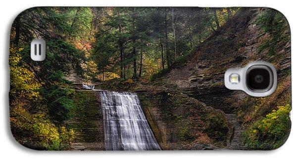 Stony Brook Park Galaxy S4 Case by Mark Papke