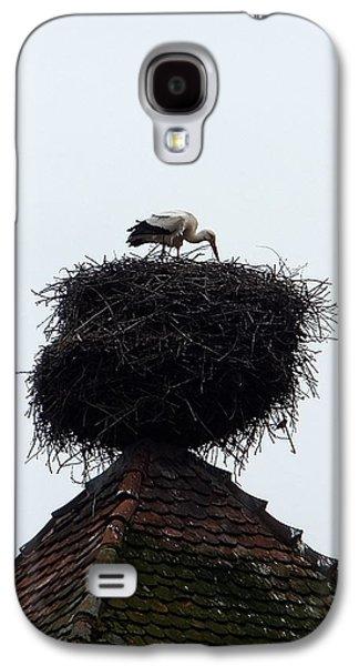 Galaxy S4 Case featuring the photograph Stork by Marc Philippe Joly