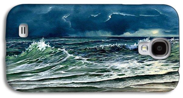 Storm Off Yucatan Mexico Galaxy S4 Case