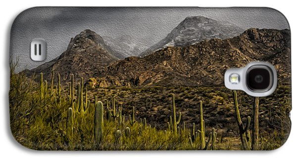 Storm Over Catalinas Aso Galaxy S4 Case by Mark Myhaver