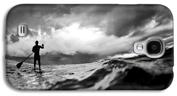 Storm Paddler Galaxy S4 Case by Sean Davey