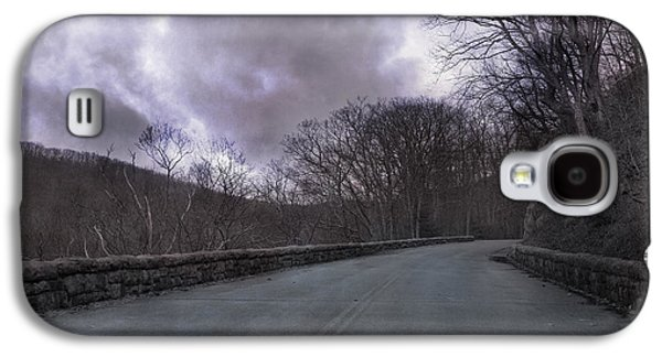 Stormy Blue Ridge Parkway Galaxy S4 Case by Betsy Knapp