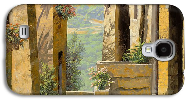 stradina a St Paul de Vence Galaxy S4 Case by Guido Borelli