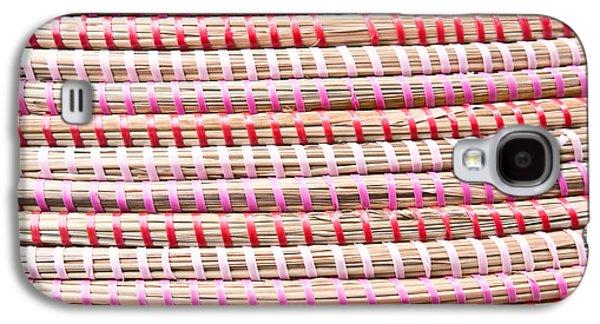 Straw Fibre Background Galaxy S4 Case