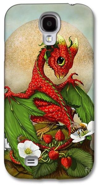 Dragon Galaxy S4 Case - Strawberry Dragon by Stanley Morrison