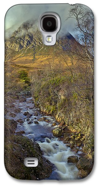 Stream Below Buachaille Etive Mor Galaxy S4 Case