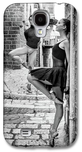 Old Town Galaxy S4 Case - Street Dance by Ohad Falik