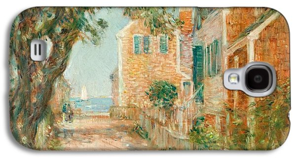 Street In Provincetown Galaxy S4 Case by  Childe Hassam