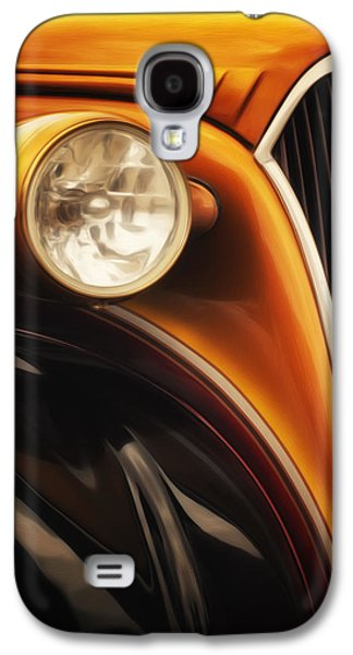 Street Rod 3 Galaxy S4 Case by Jack Zulli