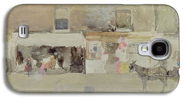 Street Scene In Chelsea Galaxy S4 Case by James Abbott McNeill Whistler
