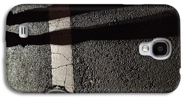 Street Shadow Galaxy S4 Case by H James Hoff