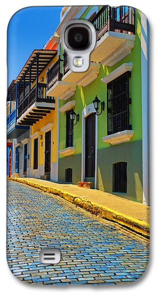 Streets Of Old San Juan Galaxy S4 Case