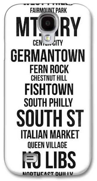 Streets Of Philadelphia 3 Galaxy S4 Case