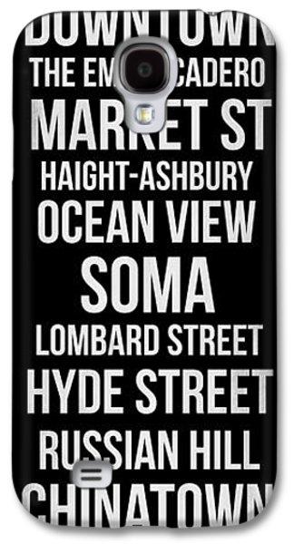 Streets Of San Francisco 2 Galaxy S4 Case by Naxart Studio
