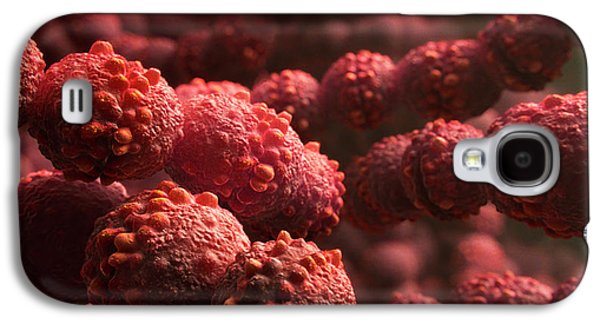 Streptococcus Bacteria Galaxy S4 Case by Thierry Berrod, Mona Lisa Production