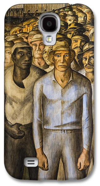 Striking Miners Mural In Coit Tower Galaxy S4 Case