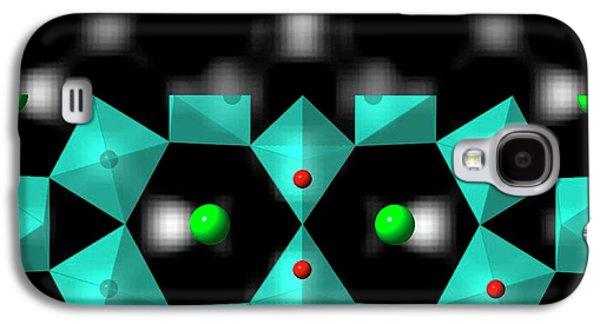 Strontium Titanate Surface Galaxy S4 Case