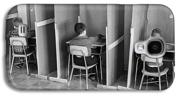 Students In Cubicles Galaxy S4 Case by Underwood Archives