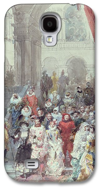 Study For A Costume Ball Given By The Princess Of Sagan Galaxy S4 Case by Eugene-Louis Lami