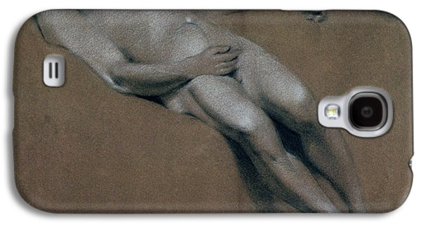 Study Of A Recumbent Male Nude Galaxy S4 Case