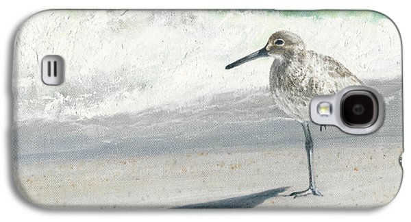 Sandpiper Galaxy S4 Case - Study Of A Sandpiper by Dreyer Wildlife Print Collections