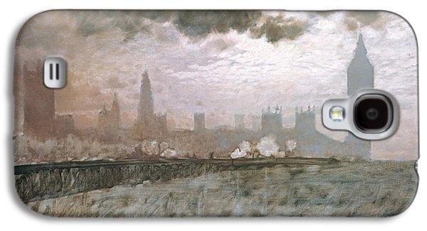 Study Of Westminster Bridge Galaxy S4 Case by Giuseppe De Nittis