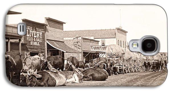 Sturgis South Dakota C. 1890 Galaxy S4 Case by Daniel Hagerman